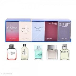 Calvin Klein Men's 5-piece Mini Variety Gift Set