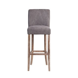 Link to Handmade Duval Frost Grey Bar Stool (India) Similar Items in As Is