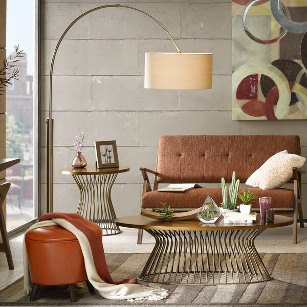Ink+Ivy Manhattan Shade Floor Lamp