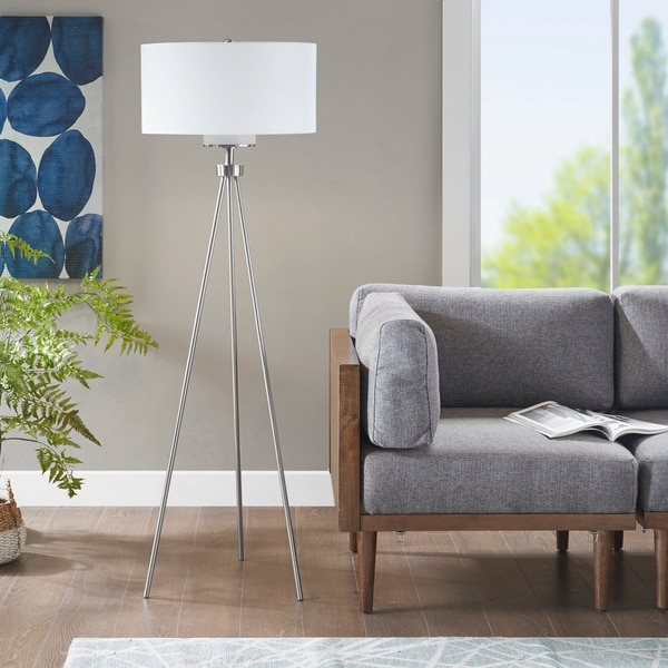 "Carson Carrington Utena Tripod Floor Lamp - Dia.20"" x 66.5""H"