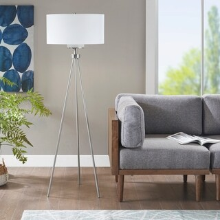 "Ink+Ivy Pacific Tripod Floor Gold Lamp - 20""w x 20""d x 64.5""h"