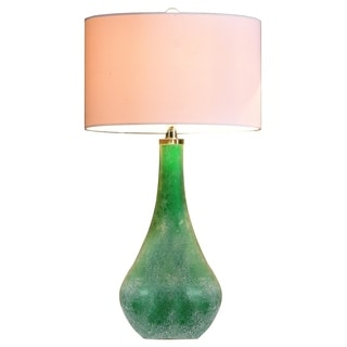 Ink+Ivy Cove Art Glass Table Lamp
