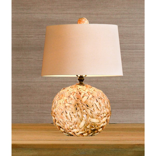 Superieur Ink+Ivy Grove Natural Seagrass Table Lamp