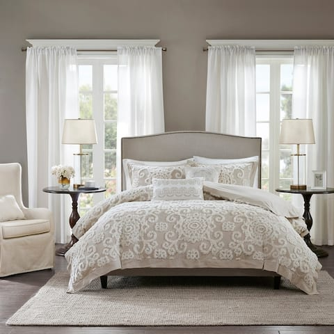 Harbor House Suzanna Cotton Comforter 3-piece Set 2-Color Option