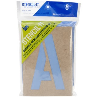 StencilIt Reusable Lettering Set8in