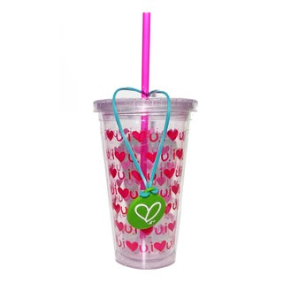 24-ounce Water Tumblers 'Love' (Set of 3)