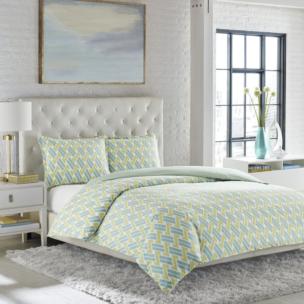 d6323a333ea9 Shop Adrienne Vittadini Essie Comforter Set - Free Shipping Today -  Overstock - 10546965