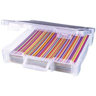 ArtBin Essentials Box W/Handle12inX12in Translucent