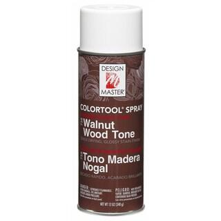 Glossy Stain Aerosol Spray 12ozWalnut Wood Tone
