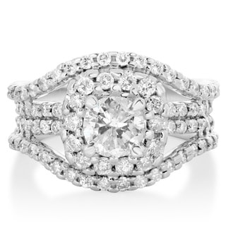 14k White Gold 2ct TDW Diamond Ring (H-I, SI2-I1)