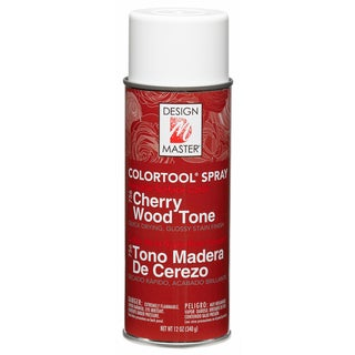 Glossy Stain Aerosol Spray 12ozCherry Wood Tone