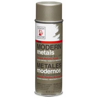 Modern Metals Spray Paint 5.5ozChampagne Silver