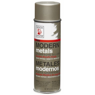 Modern Metals Spray Paint 5.5ozChampagne Silver