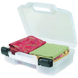 ArtBin Quick View Deep Base Carrying Case12inX3.25inX9.875in Translucent