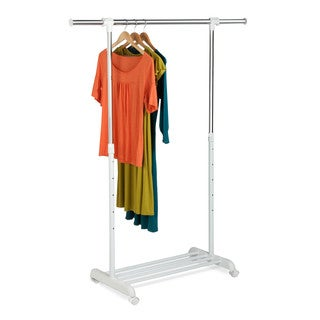 honeycando gar03265 adjustable garment rack - Clothes Hanger Rack