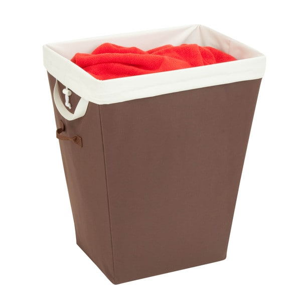 Shop Honey Can Do Large Brown Nested Laundry Hamper Free