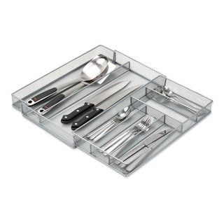 Steel Mesh Expandable Cutlery Tray