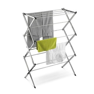 Honey-Can-Do DRY-01234 Chrome Accordion Drying Rack