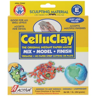 CelluClay Instant PaperMache 1lbGray