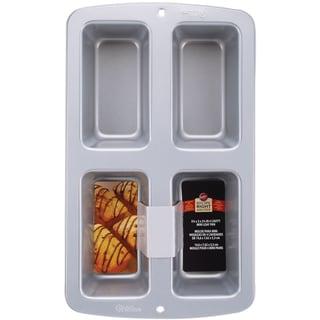 Recipe Right Mini Loaf Pan4 Cavity 3inX6inX2in