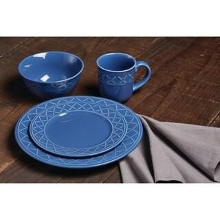 Paula Deen Dinnerware Savannah Trellis 16-Piece Stoneware Dinnerware Set