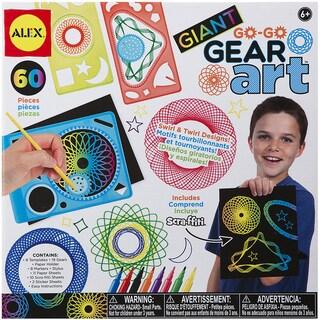 Giant Go Go Gear Art Set