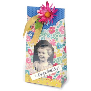 Sizzix Movers & Shapers L Die By Brenda WaltonSweet Treat Bag