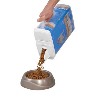 Buddeez 8qt inBagInin Pet Food Dispenser Holds Up To 8lbs