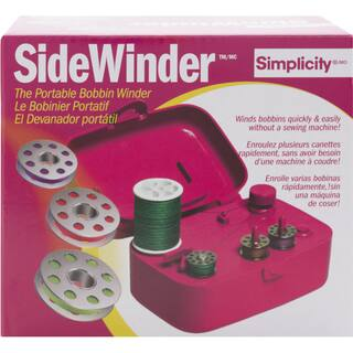 Sidewinder Portable Bobbin WinderFuchsia|https://ak1.ostkcdn.com/images/products/10547294/P17627214.jpg?impolicy=medium