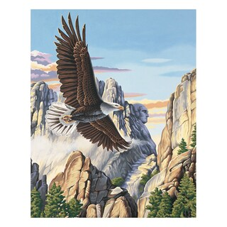 Paint Works Paint By Number Kit 16inX20inSoaring Eagle