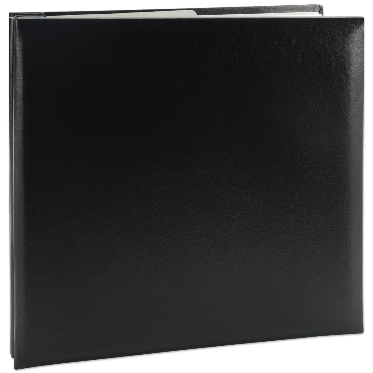Pioneer Leatherette Post Bound Album 8inX8inBlack (Black)...