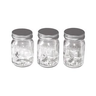 Tim Holtz Idea-Ology Mini Mason Jars 3/Pkg4inX2.25in