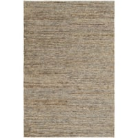 Hand-Knotted Joselyn Solid Indoor Jute Area Rug (8' x 10')