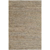 Hand-Knotted Joselyn Solid Indoor Jute Area Rug - 8' x 10'