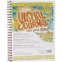Strathmore Visual Journal Mixed Media Vellum 9inX12in34 Sheets