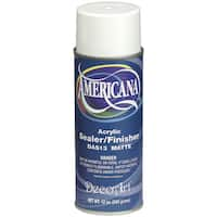 Americana Acrylic Sealer/Finish Aerosol Spray 12ozMatte