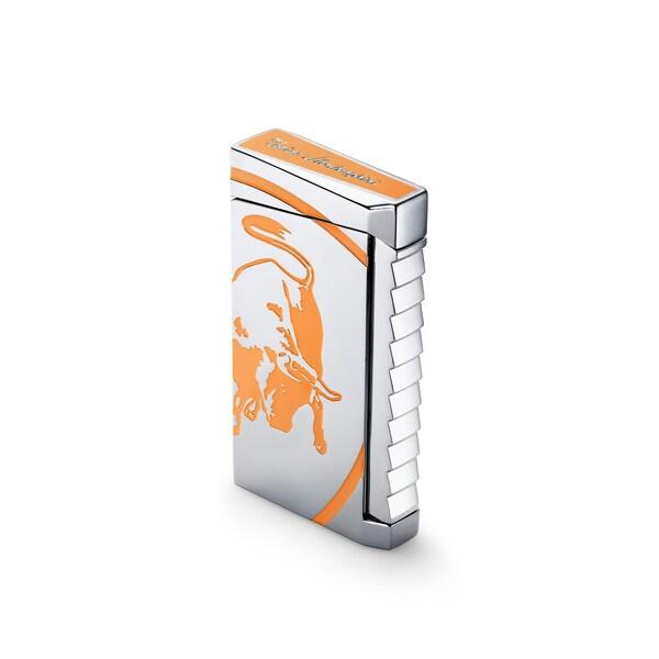 Tonino Lamborghini Il Toro Torch Flame Lighter - Orange (Ships Degassed)