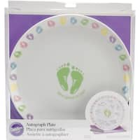 Baby Feet Autograph Plate Kit Baby Feet