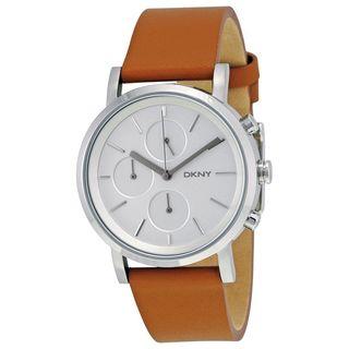 DKNY Women's NY2336 'Soho' Chronograph Brown Leather Watch