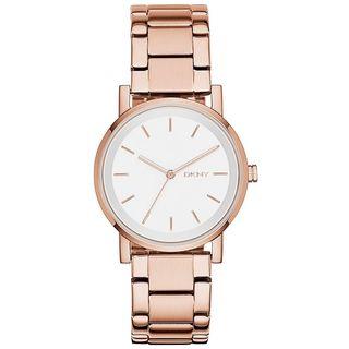 DKNY Women's NY2344 'Soho' Rose-Tone Stainless Steel Watch