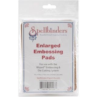 Spellbinders Enlarged Embossing Pads 5inX7in 2/Pkg