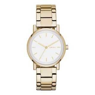 DKNY Women's NY2343 'Soho' Gold-Tone Stainless Steel Watch
