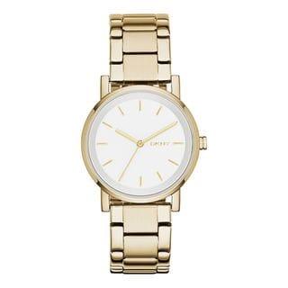 DKNY Women's NY2343 'Soho' Gold-Tone Stainless Steel Watch