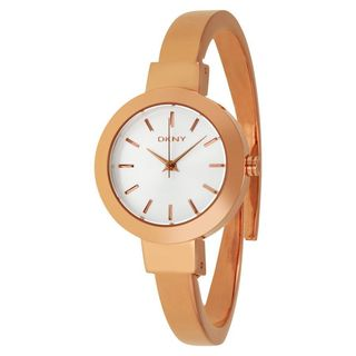 DKNY Women's NY2351 'Stanhope' Rose-Tone Stainless Steel Watch
