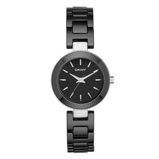 DKNY Women's NY2355 'Stanhope' Black Ceramic Watch