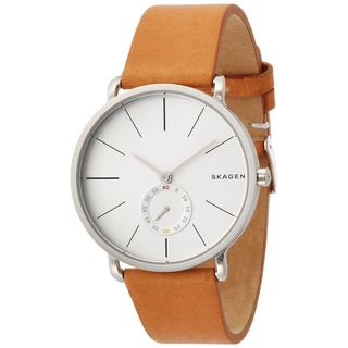 Skagen Men's SKW6215 'Hagen' Brown Leather Watch