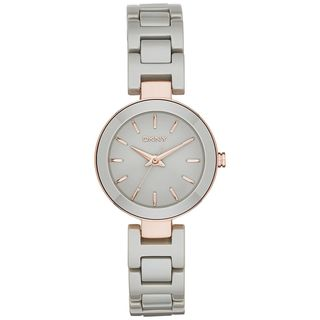 DKNY Women's NY2356 'Stanhope' Grey Ceramic Watch