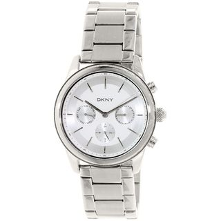 DKNY Women's NY2364 'Rockaway' Multi-Function Crystal Stainless Steel Watch