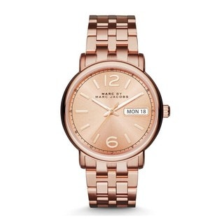 Marc Jacobs Women's MBM3439 'Fergus' Rose-Tone Stainless Steel Watch