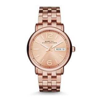 Marc Jacobs Women's MBM3439 'Fergus' Rose-Tone Stainless Steel Watch